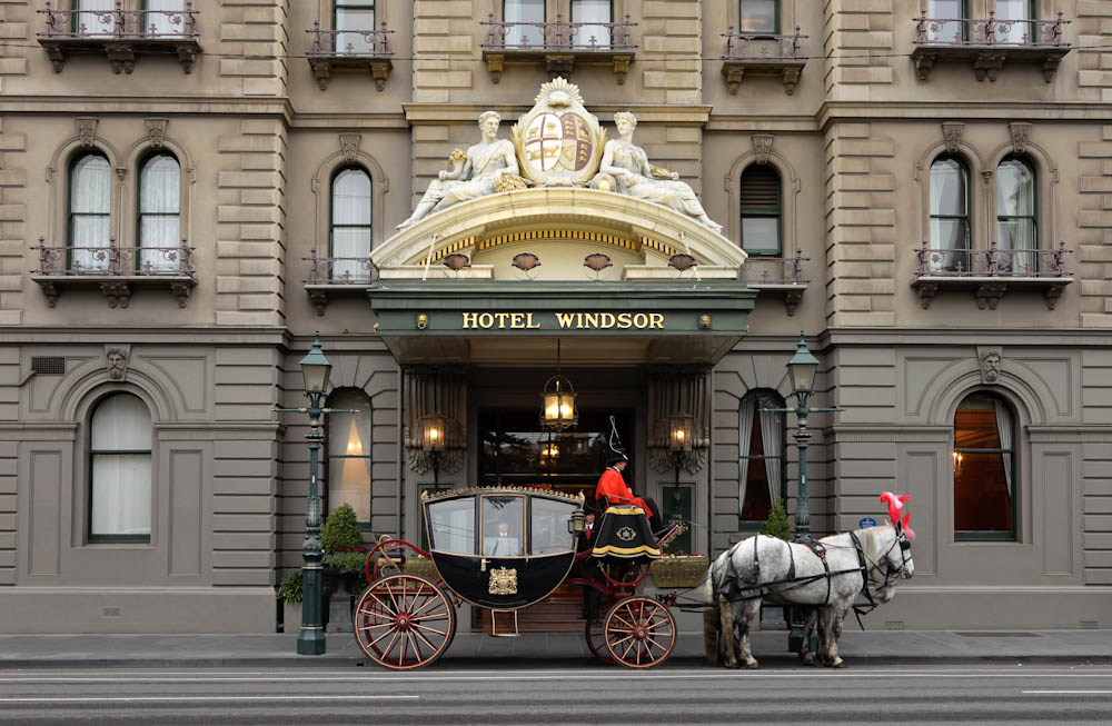 Foyer And Entrance Of The Windsor Hotel : Australian grand prix f travel packages by moto