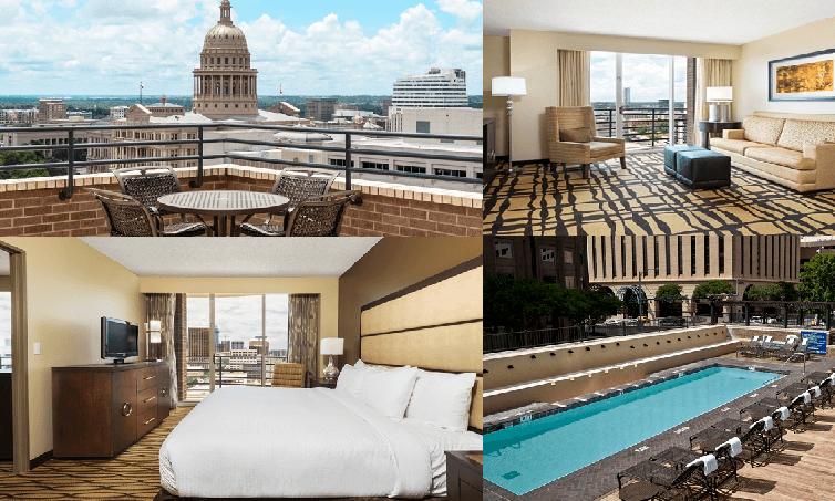 Doubletree Austin, f1, motogp hotels